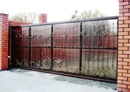 Ворота автоматические раздвижные, откатные