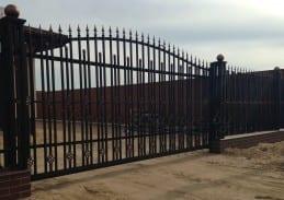 Ворота кованые ковка