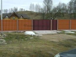 Индивидуальный проект ворот