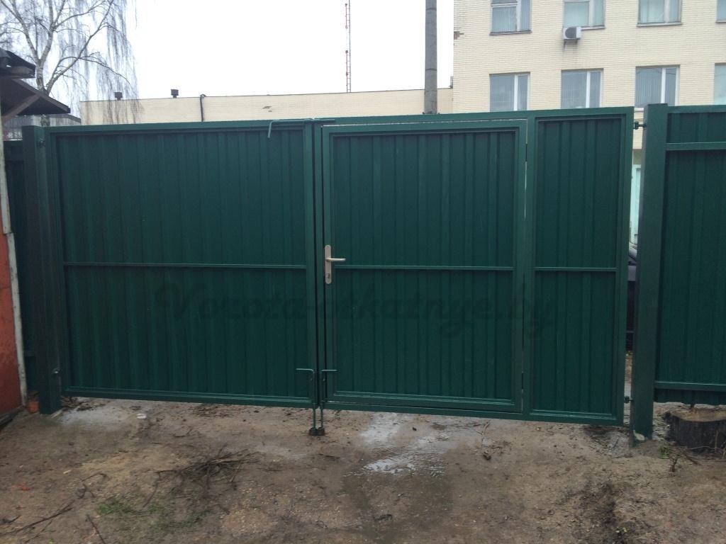 Купить ворота распашные цена и фото, Минск