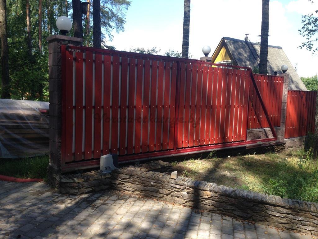 Купить откатные ворота в Минске цена