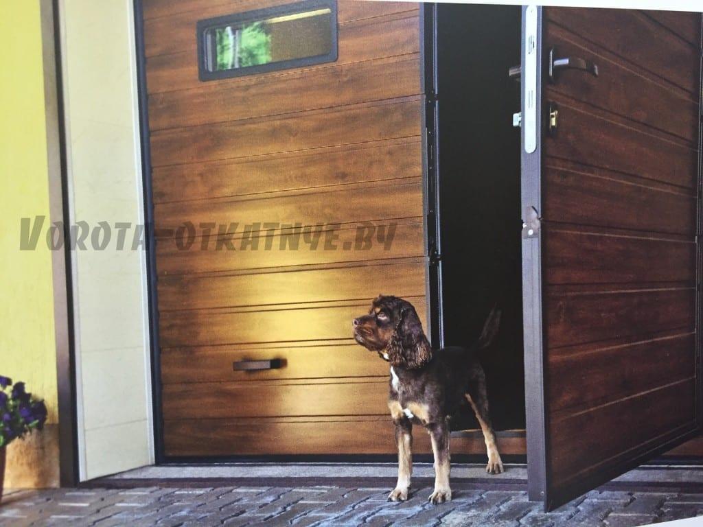 Ворота секционные гаражные установка в минске цена и фото