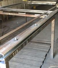 рейка зубчатая для изготовление откатных ворот купить в минске, цена и фото