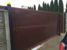 ремонт откатных ворот в минске фото цена